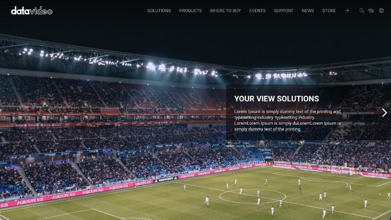 Datavideo 國際官網