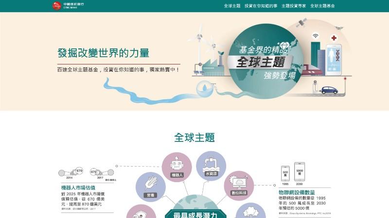 中國信託-基金全球主題